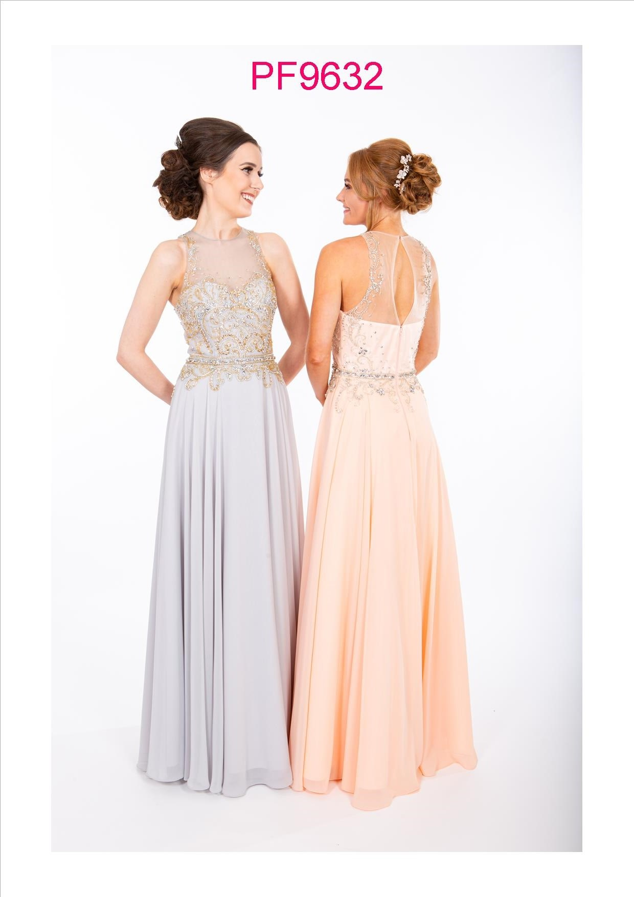 PF9632 Silver and Blush