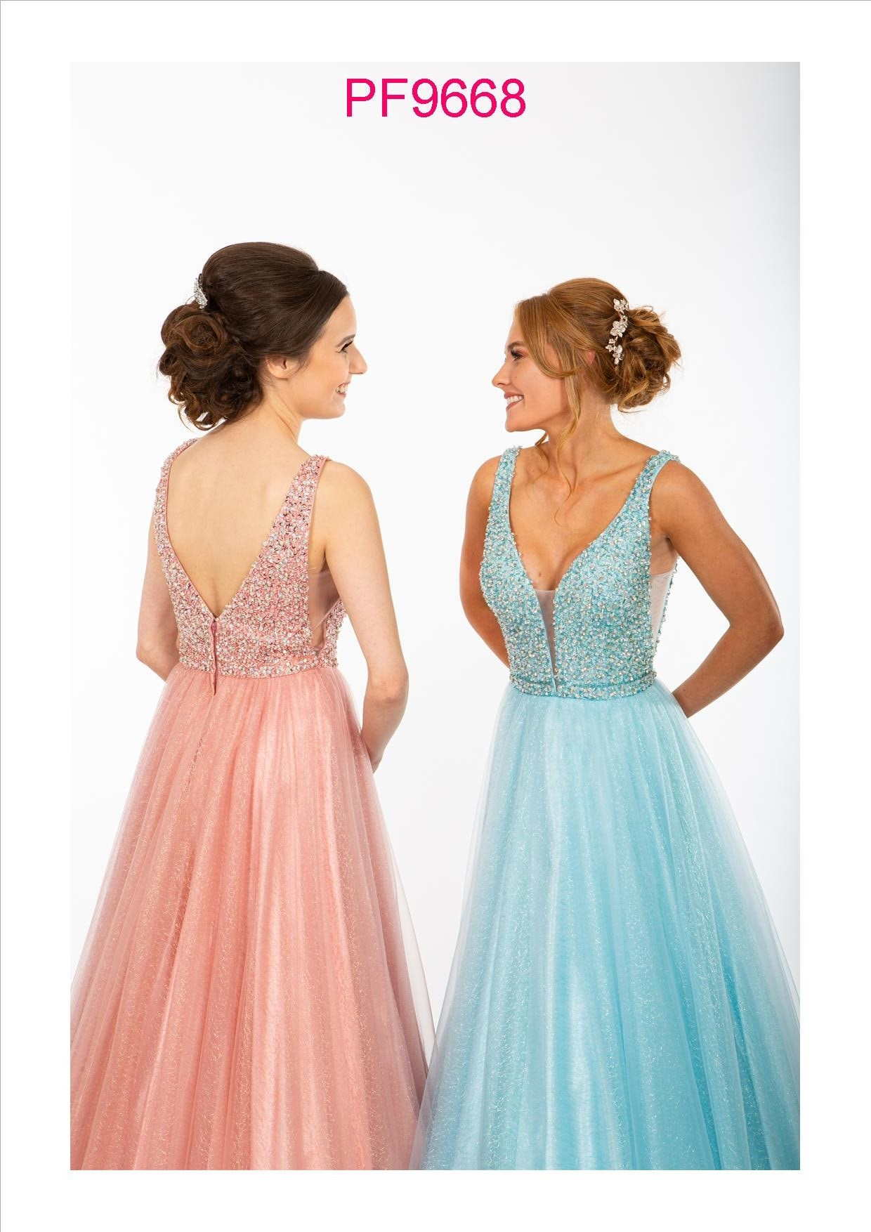 PF9668 Rose Pink and Blue